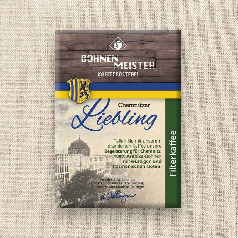 Bohnenmeister Chemnitzer Liebling 100% Arabica 250g