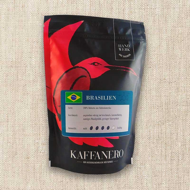 Kaffanero Brasilien Robusta 250 g