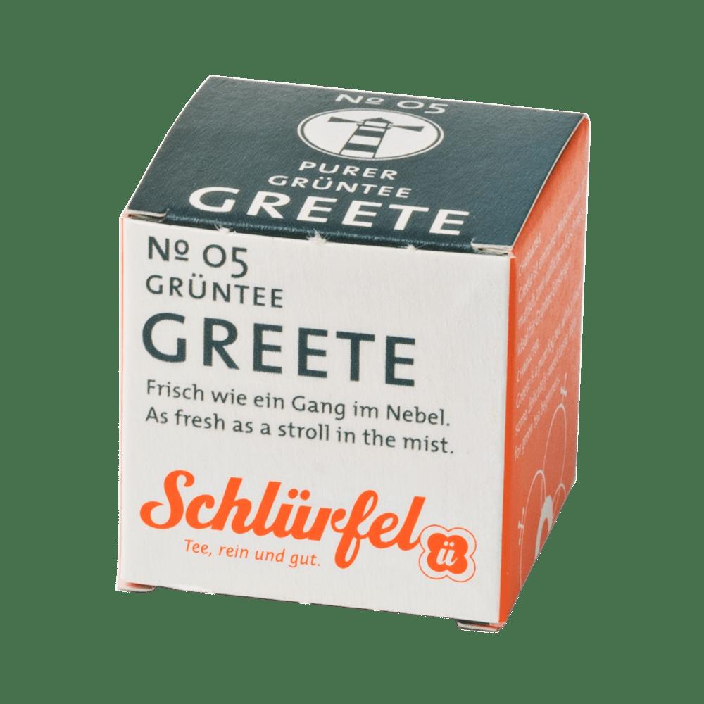 Grüntee »Greete« No. 05 - Schlürfel