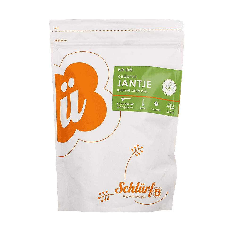 Grüntee »Jantje« No. 06 - Beutel