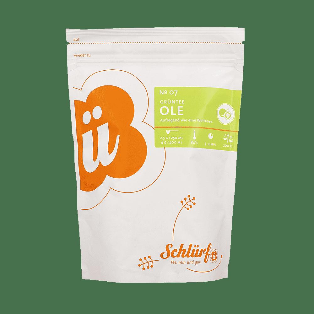 Grüntee »Ole« No. 07 - Beutel 200 g lose