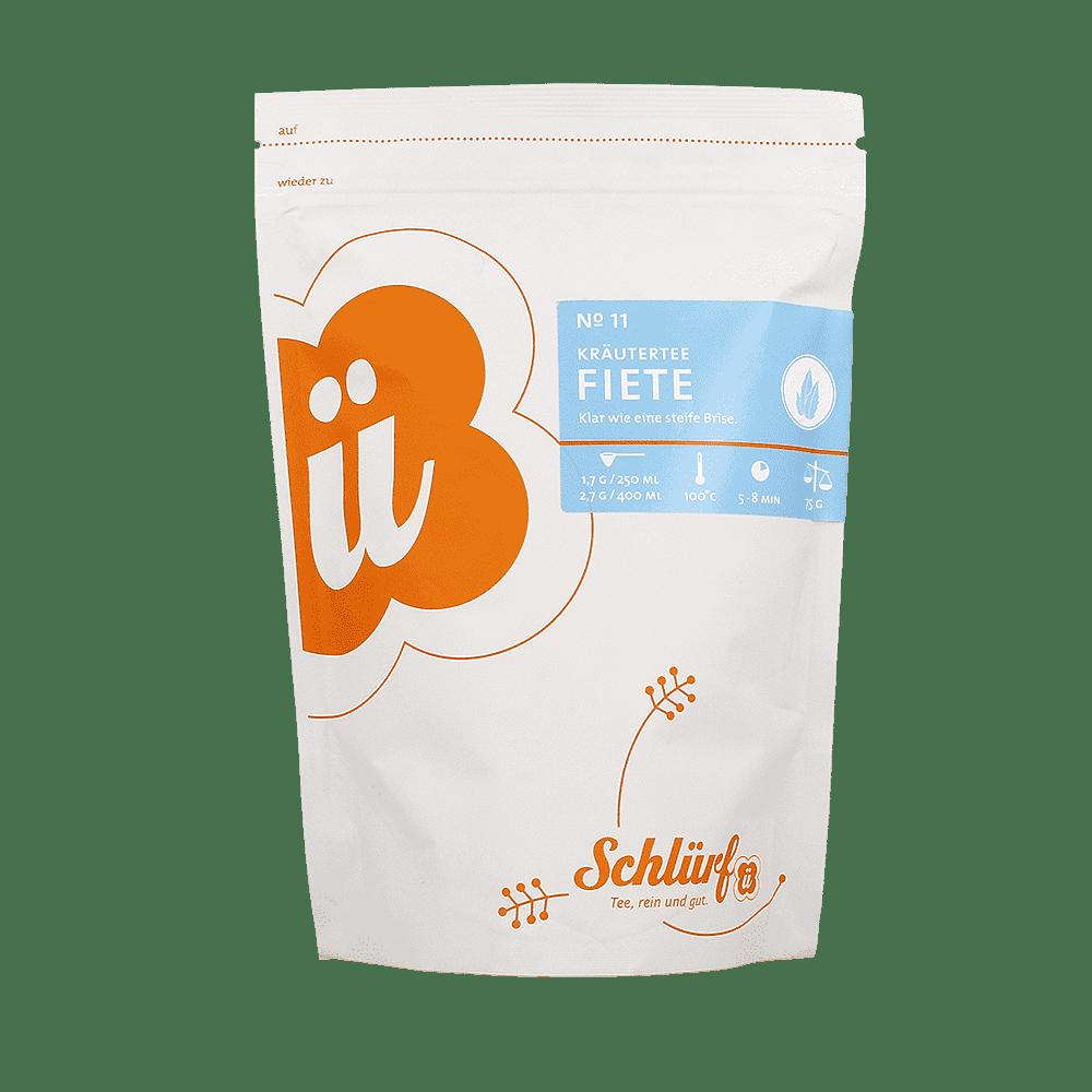 Kräutertee »Fiete« No. 11 - Beutel 75 g lose