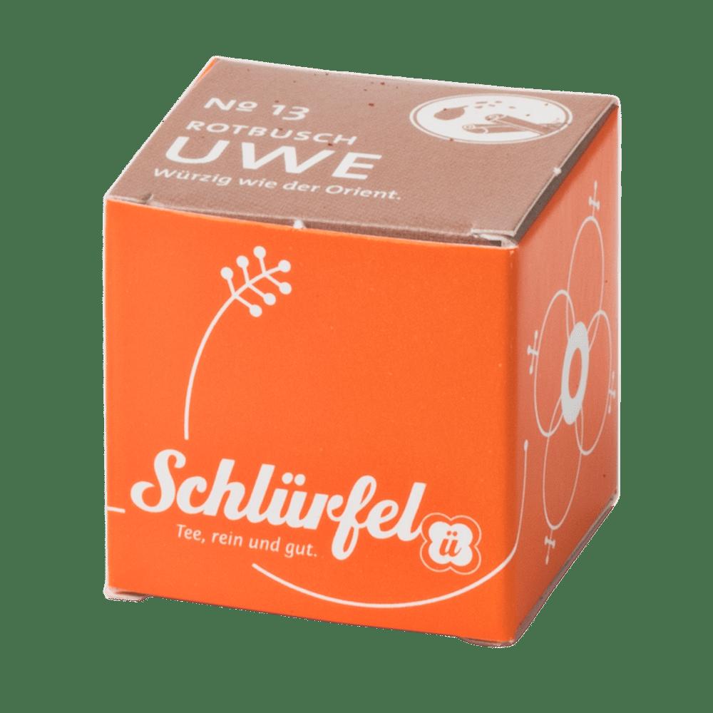 Rotbuschtee »Uwe« No. 13 - Schlürfel