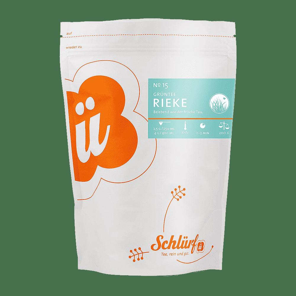 Grüntee »Rieke« No. 15 - Beutel 200 g lose