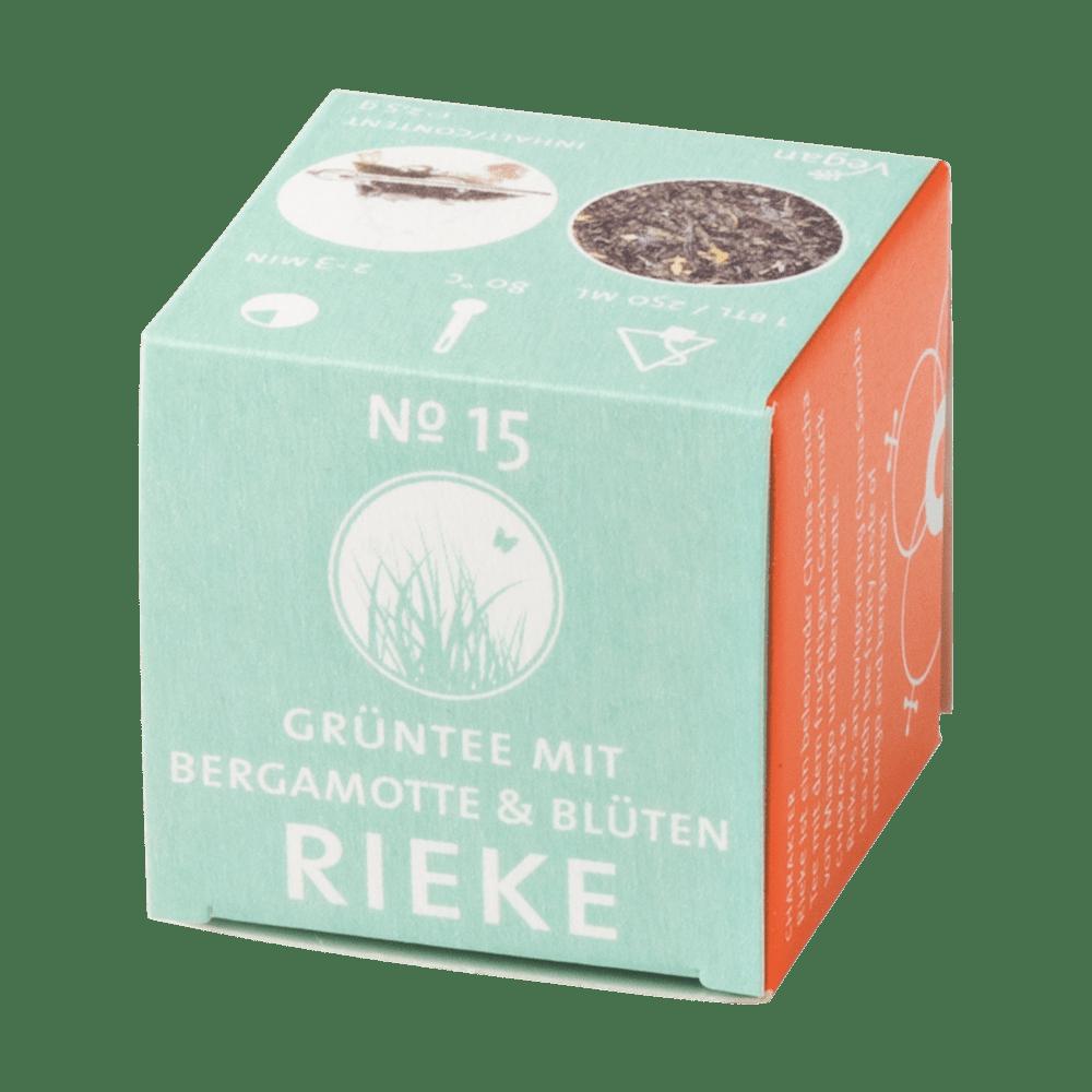 Grüntee »Rieke« No. 15 - Schlürfel