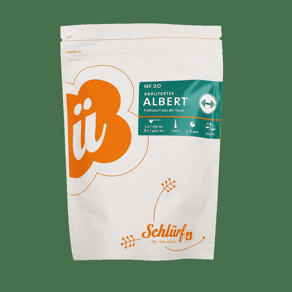 Kräutertee »Albert« No. 20 - Beutel 200 g lose