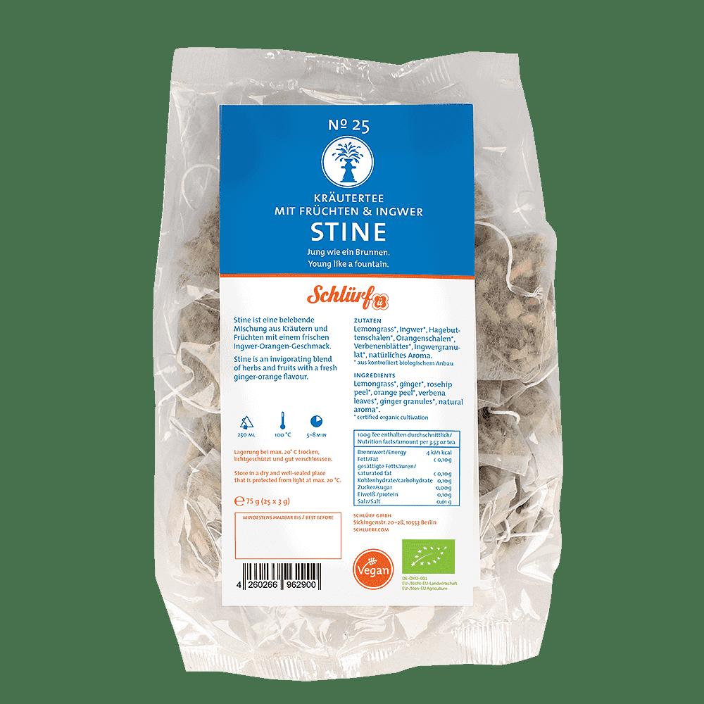 Kräutertee »Stine« No. 25 - Tüüten