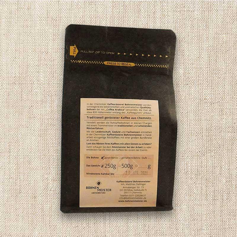 Bohnenmeister Chemnitzer Harmonie Filterkaffee 100% Arabica 250 g