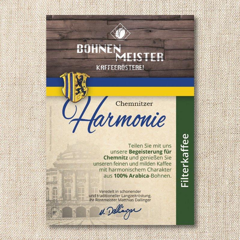 Bohnenmeister Chemnitzer Harmonie 100% Arabica 250g